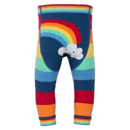 rainbow knit baby leggings to rent