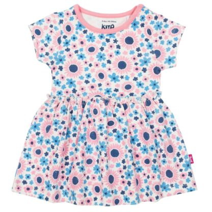 baby bodysuit dress rental with floral print