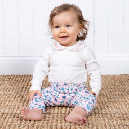 floral baby clothing rental leggings