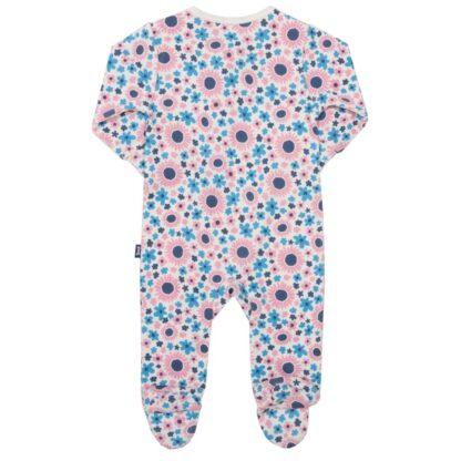 baby clothing rental floral sleepsuit