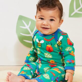 green baby sleepsuit clothing rental
