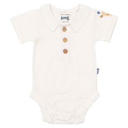 short sleeve polo top bodysuit baby clothes rental