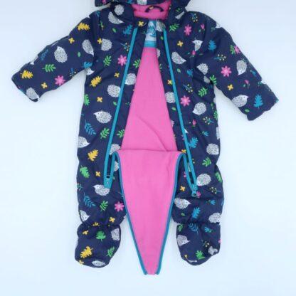 babywear rental all in one hedgehog suit