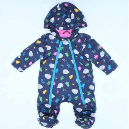 recycled baby clothing rental hedgehog all in one suit