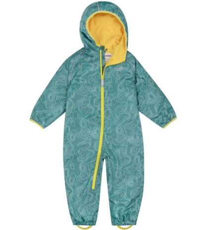green baby suit all in one