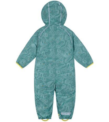 babywear rental teal puddlesuit