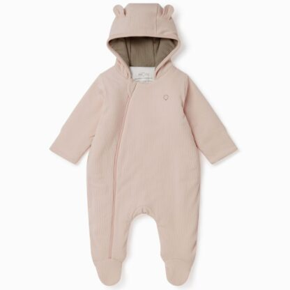 padded baby pramsuit all in one snug suit by Mori