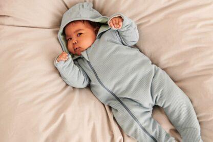 bamboo and organic cotton baby snugsuit rental