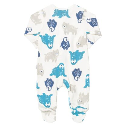 all over printed sleepsuit baby clothing rental