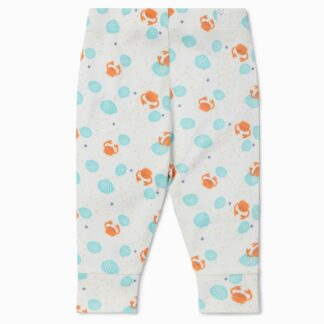 baby clothes rental uk crab and shell print leggings