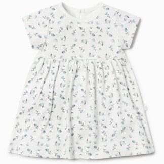 bamboo and organic cotton floral dress baby clothes to rent