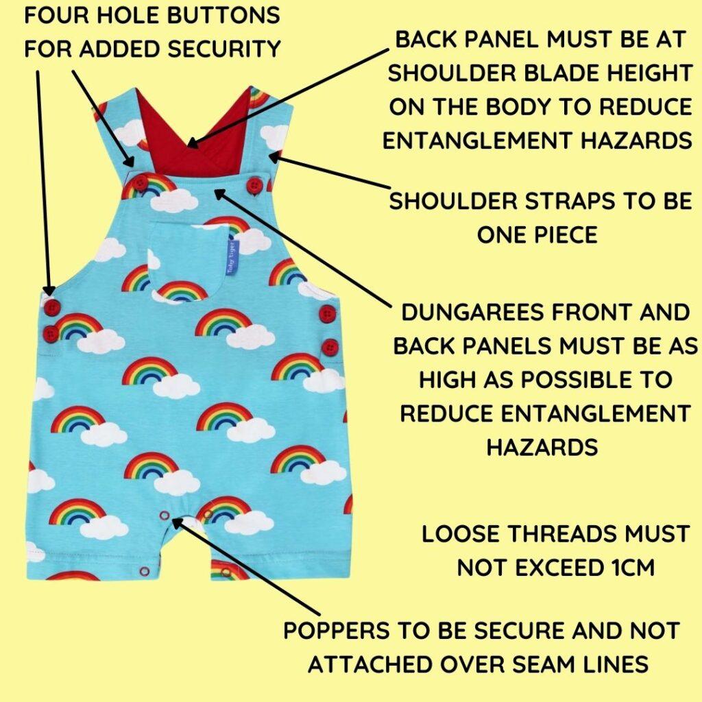 safety checks for babywear rental