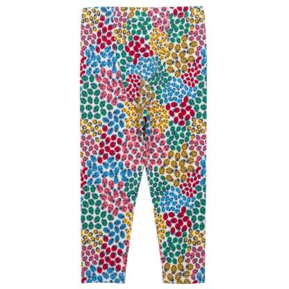 organic multi coloured leggings