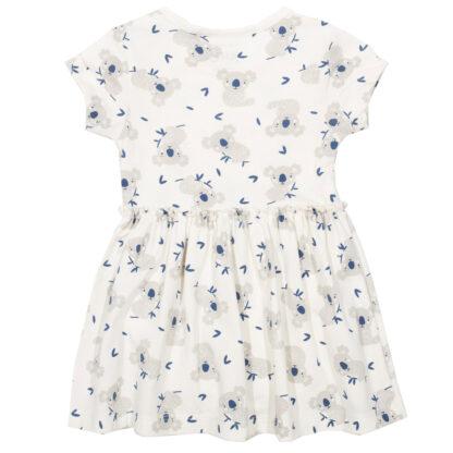 white organic baby bodydress