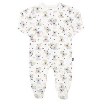 organic little joey sleepsuit