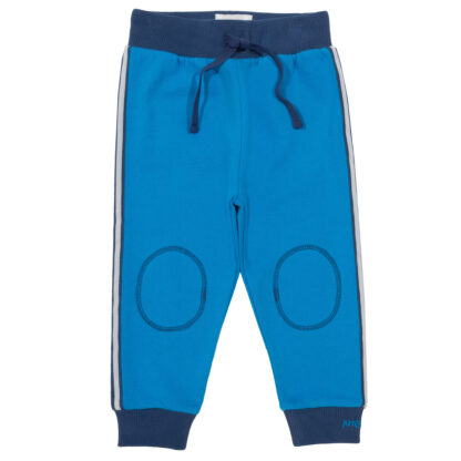 blue side stripe baby joggers