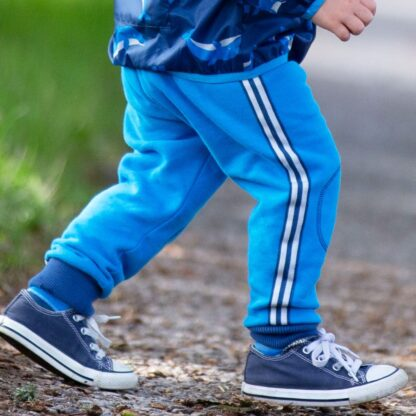 blue baby joggers