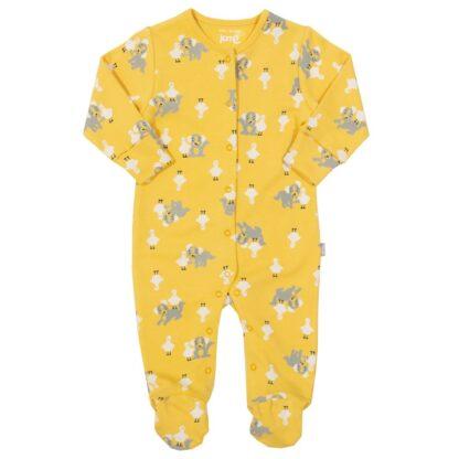 organic yellow sleepsuit