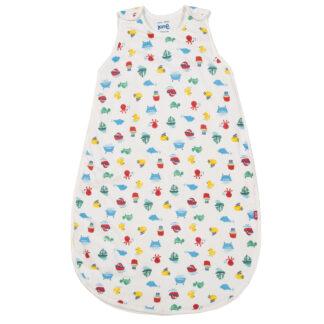 printed baby sleep bag