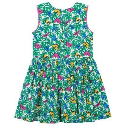 sleeveless butterfly baby dress