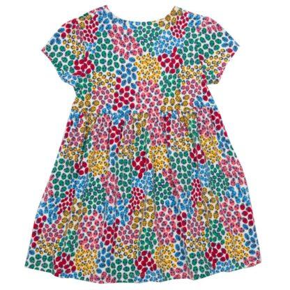 short sleeve ladybird baby dress
