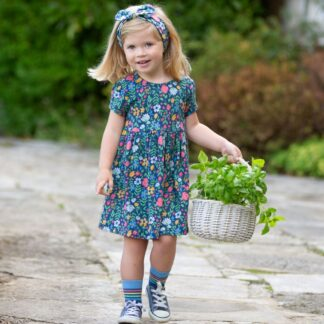 SS floral baby dress