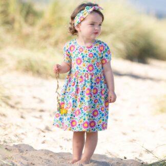 organic sea breeze baby dress