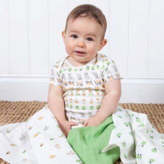 cream baby bodysuit