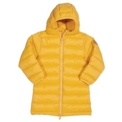 recycled yellow baby coat