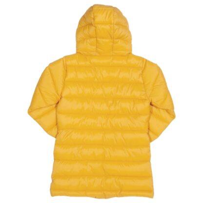 longer length yellow baby coat