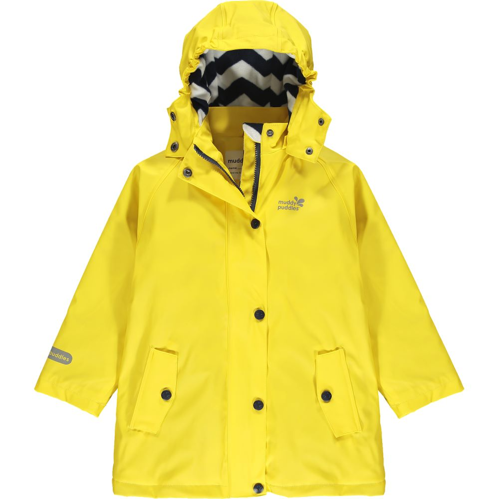 Yellow raincoat for infants and toddlers