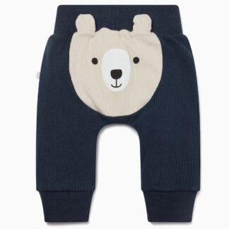 navy bear joggers baby clothes