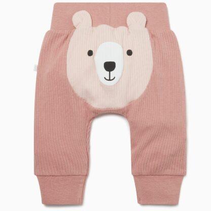 pink bear joggers