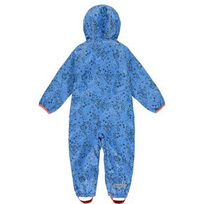 Vibrant blue enchanted puddlesuit