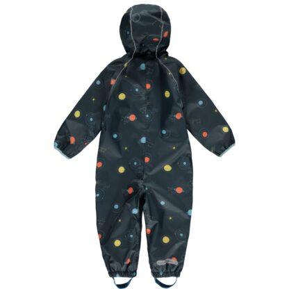 cosmic grey printed puddlesuit