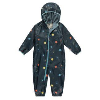 cosmic print Ecosplash puddlesuit