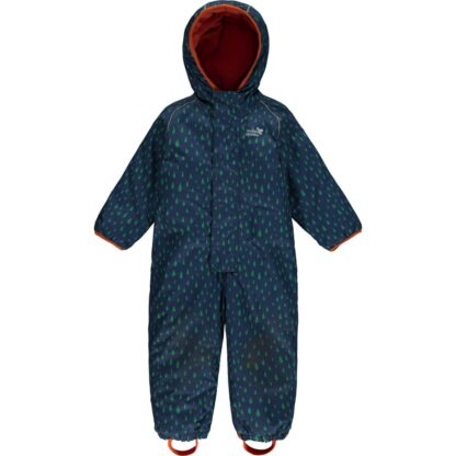insulated navy baby puddlesuit