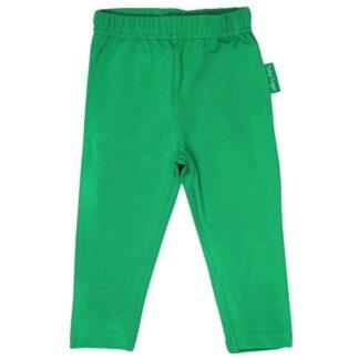 green baby leggings