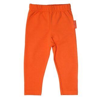 orange baby leggings