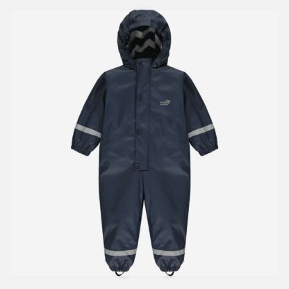 lined navy puddleflex all-in-one