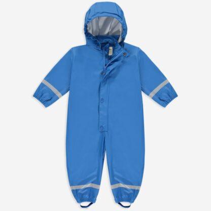 Blue Rainy Day baby puddlesuit